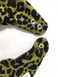 Grøn leopardprint