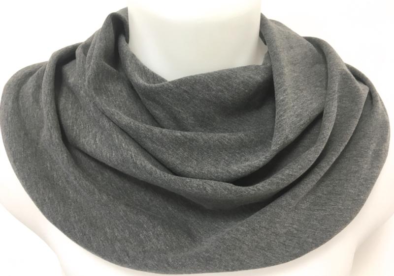 Mørkegråt savletørklæde