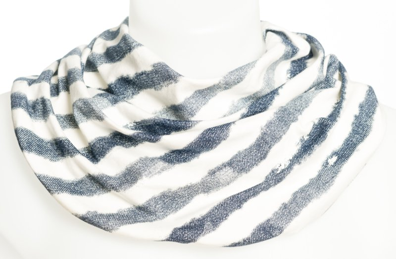 Stribet absorberende tørklæde