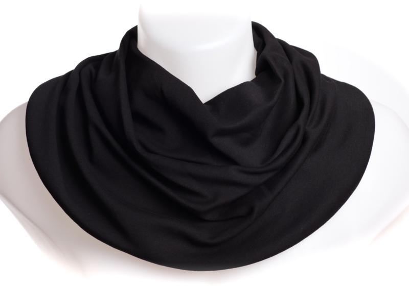 Sort salvetørklæde til mænd