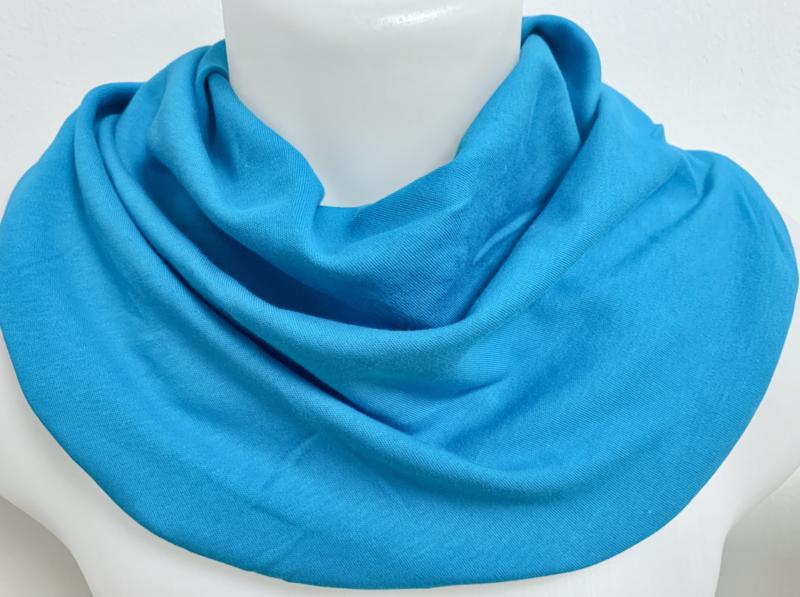 Flot turkist tørklæde