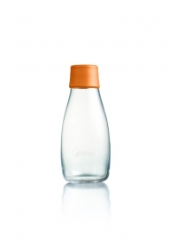 Retap waterfles 300ml met oranje dop