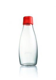 Retap waterfles 500ml met rode dop