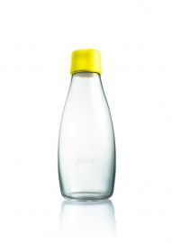 Retap waterfles 500ml met gele dop