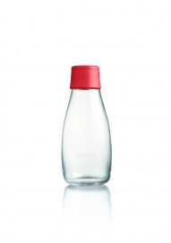 Retap waterfles 300ml met rode dop