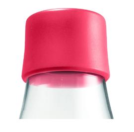 Retap waterfles 800ml met framboos rode dop