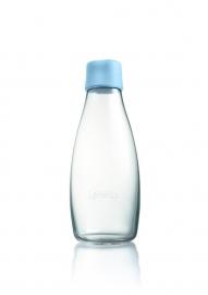 Retap waterfles 500ml met baby blauwe dop