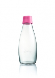Retap waterfles 500ml met baby roze dop