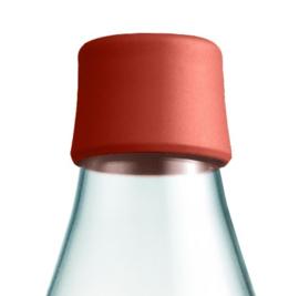 Retap waterfles 800ml met woestijn rode dop