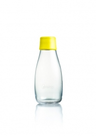 Retap waterfles 300ml met gele dop