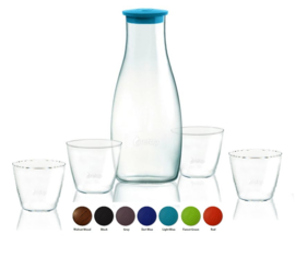 Retap Caraf met 4 Retap Water Glazen