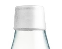 Retap waterfles 800ml met ijswitte dop