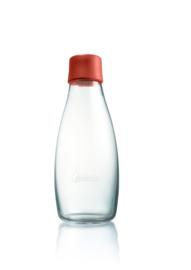 Retap waterfles 500ml met woestijn rode dop