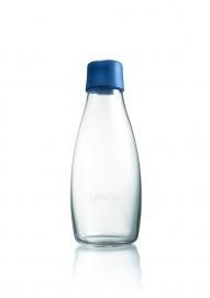 Retap waterfles 500ml met donker blauwe dop