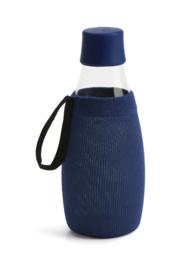 Retap donker blauwe sleeve voor de 500ml Retap waterfles