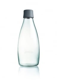 Retap waterfles 800ml met grijze dop