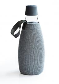 Retap grijze sleeve voor de 800ml Retap waterfles