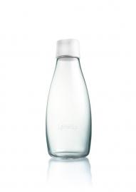Retap waterfles 500ml met bevroren wit dop