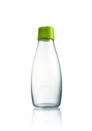 Retap waterfles 500ml met mos groene dop