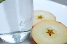 Retap waterfles 500ml met grijze dop