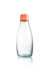 Retap waterfles 500ml met perzik dop