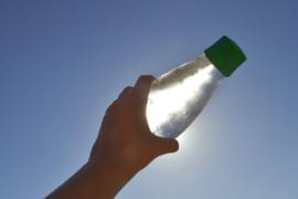 Retap waterfles 500ml met leger groene dop