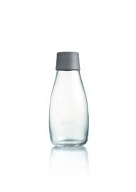 Retap waterfles 300ml met grijze dop
