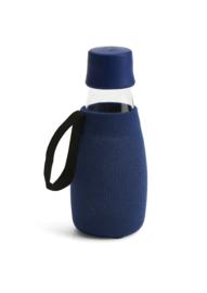 Retap donker blauwe sleeve voor de 300ml Retap waterfles