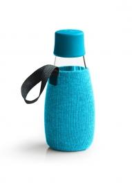 Retap lichtblauwe sleeve voor de 300ml Retap waterfles