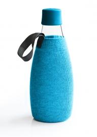 Retap lichtblauwe sleeve voor de 800ml Retap waterfles