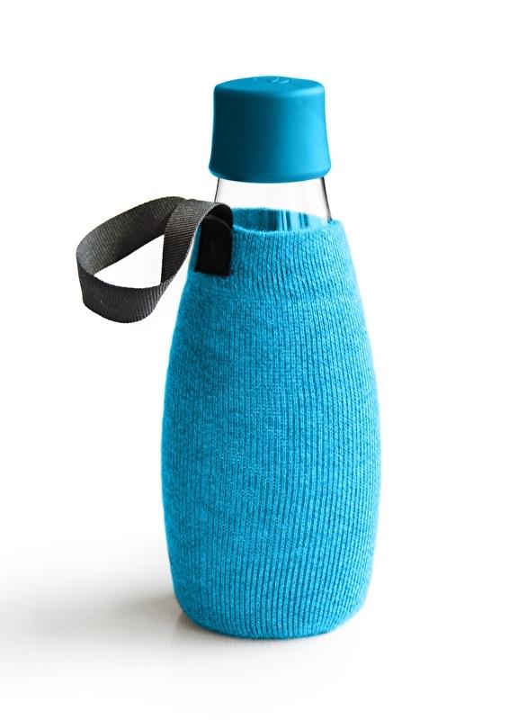 Retap lichtblauwe sleeve voor de 500ml Retap waterfles