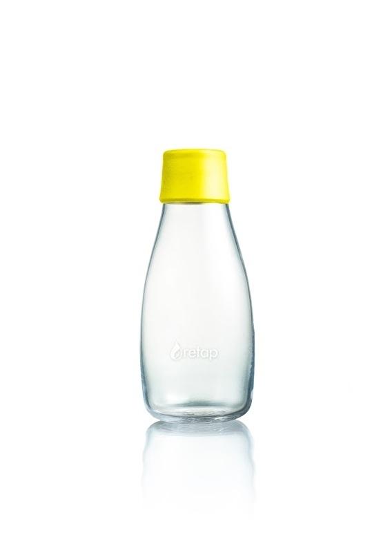 Retap waterfles 300ml met gele dop