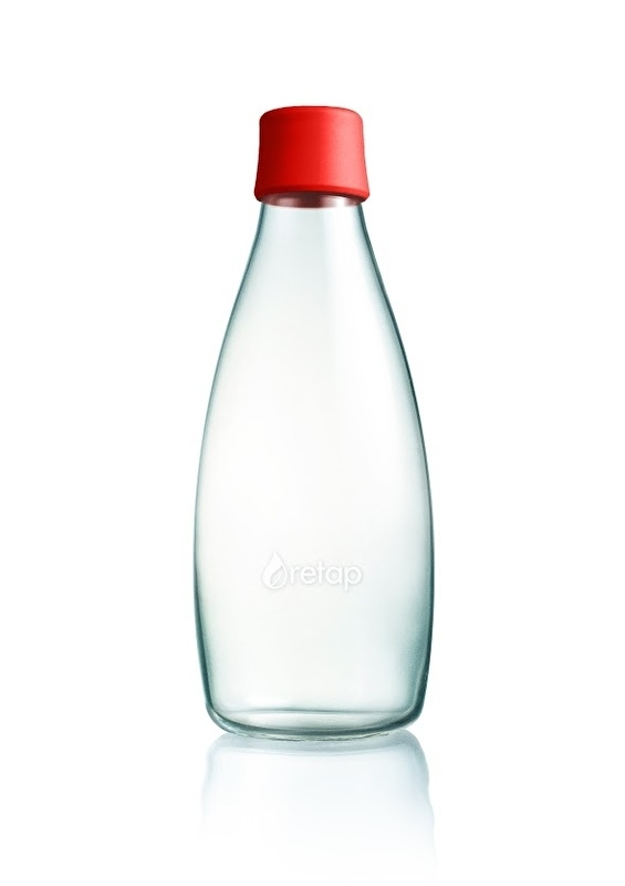 Retap waterfles 800ml met rode dop