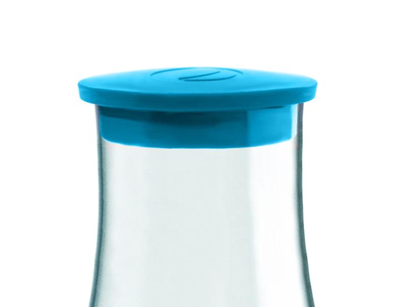 Retap Caraf dop licht blauw