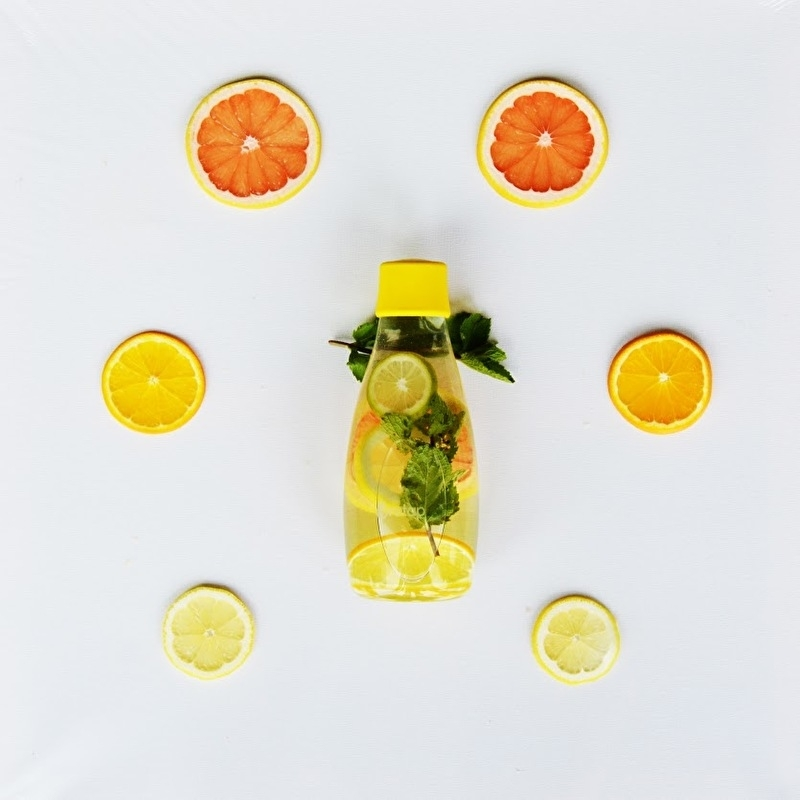 Citrus Twist with a Hint of Mint