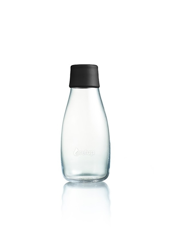 Retap waterfles 300ml met zwarte dop