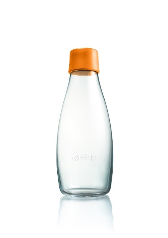 Retap waterfles 500ml met oranje dop