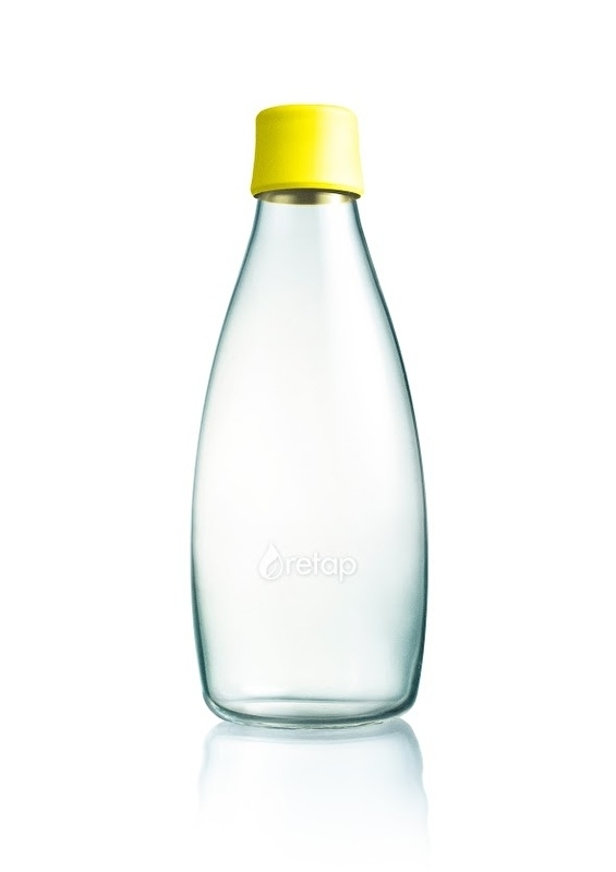Retap waterfles 800ml met gele dop