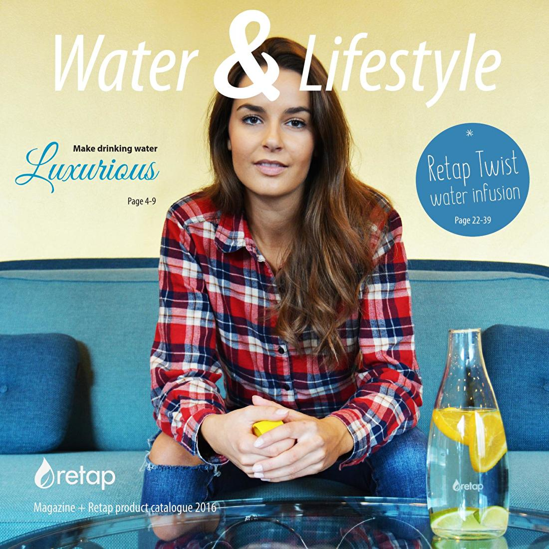 Retap Water en Lifestyle