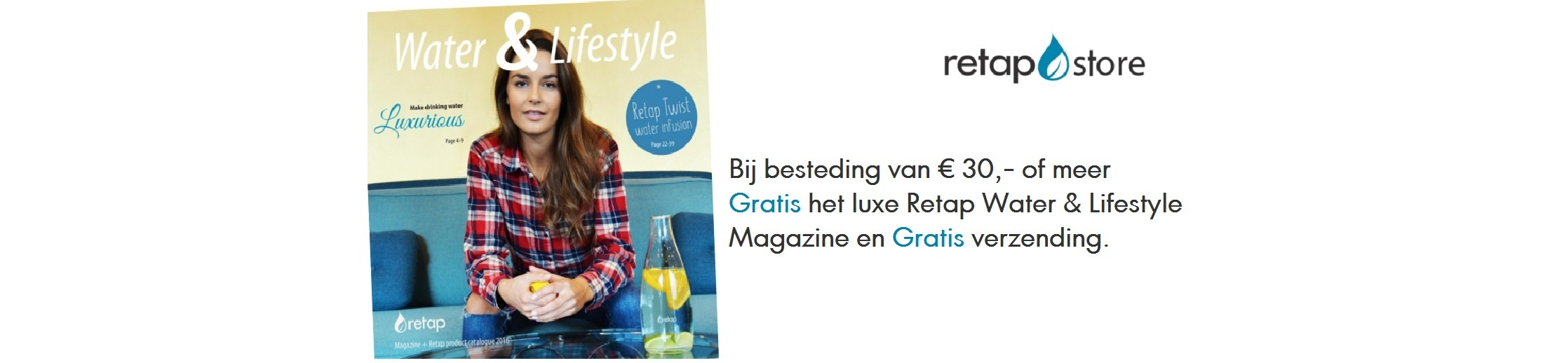 Luxe Retap Water & Lifestyle Magazine