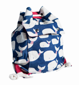 Gym bag little red whale