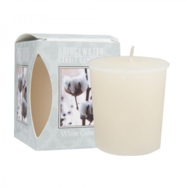 White Cotton votive