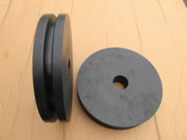 Kunststof schijf voor hoekwiel kast ketting systeem