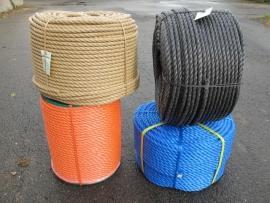 PP 3 strengs geslagen touw