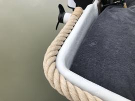 Uitpunten / takeling  36 mm kabelaring touw