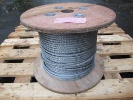 Verzinkte staalkabel 10 mm