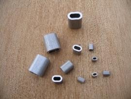 Aluminium persklemmen
