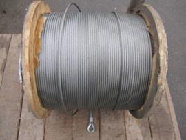 Draaivrije staalkabel 4 mm