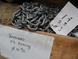 Vuur en Electrolytisch verzinkt kortschalmige ketting