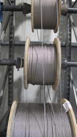 RVS kabel 6 mm